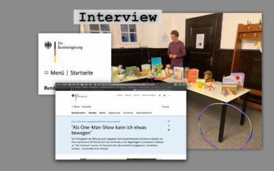 """Interview mit der """"One-man-show"""""""