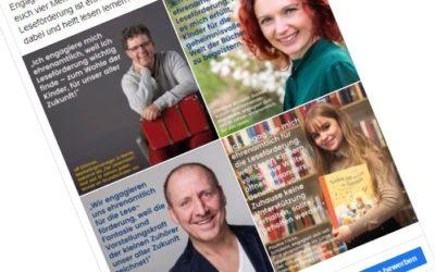 Stiftung Lesen gibt dem Ehrenamt ein Gesicht
